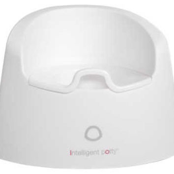 Intelligent Potty #1 Potty Training System (Milk White)