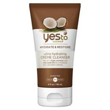 Yes to Coconut Ultra Hydrating Facial Crème Cleanser - 4 fl oz