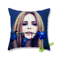 Modern Diva Lana Del Rey Square Pillow Cover