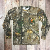 Old State Pride Camo L/S Logo Tee