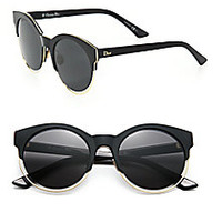 Dior - Sideral 53MM Round Sunglasses - Saks Fifth Avenue Mobile