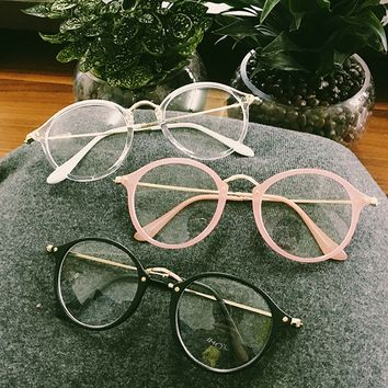 Kawaii Circle Glasses