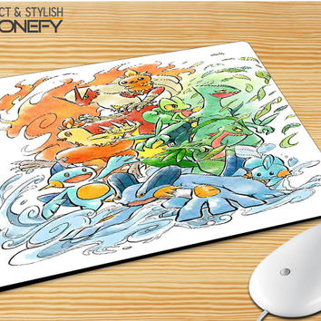 Pokemon Collage Mousepad Mouse Pad|iPhonefy