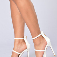 California Dreamin' Heel - White
