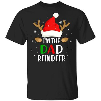 I'm The Dad Reindeer Matching Family Christmas