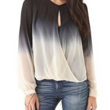 Young Fabulous & Broke Caliente Ombre Top | SHOPBOP