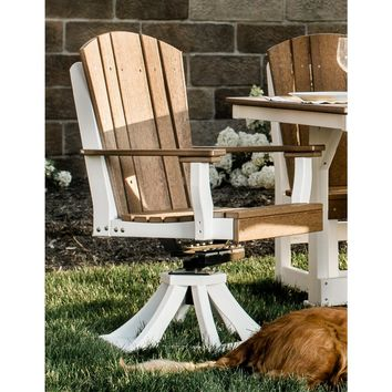 Wildridge Heritage Outdoor Swivel Rocker Dining Chair  - Ships in 10-14 Business Days