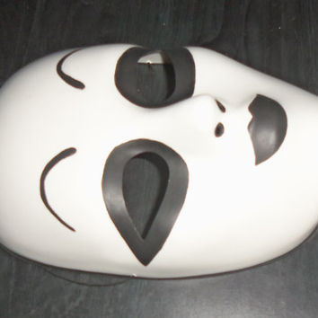 Masky mask from Marble Hornets