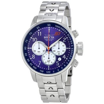 Invicta S1 Rally Chronograph Blue Dial Mens Watch 23080
