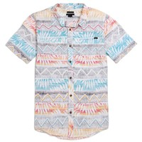 O'Neill The Weasel Short Sleeve Woven Shirt - Mens Shirts - Multi -