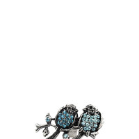 Love Birds Ring in Aqua – bandbcouture.com