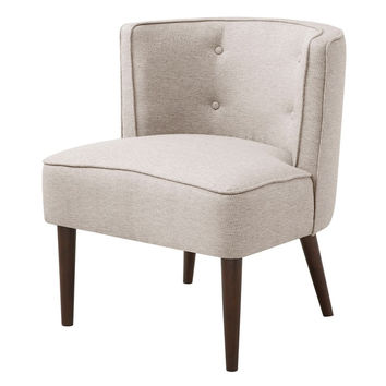 Sorrento Tufted Upholstered Curved Chair