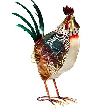 Figurine Fan - Country Rooster