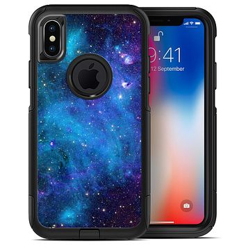 Azure Nebula - iPhone X OtterBox Case & Skin Kits