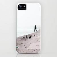Surfing Where the Ocean Meets the Sky iPhone & iPod Case by Brooke Ryan Photography