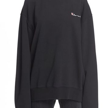 Vetements Reversible Double Crewneck Sweatshirt | Nordstrom