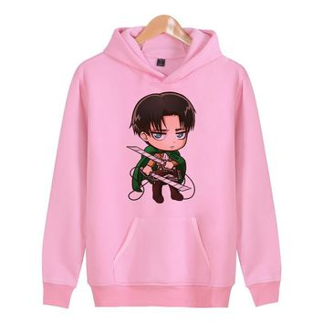 Cool Attack on Titan  Hoodies Men Hooded Casual Wool Winter Thickened Coat Male Velvet Male Sweatshirts Coat Hoody Man Clothing X4030 AT_90_11