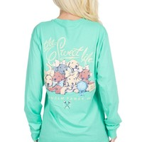 The Sweet Life - Puppies - Long Sleeve – Lauren James