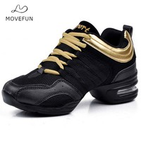 2017 Dancing Shoes for Women Jazz Sneaker New Dance Sneakers for Women Modern Street Dance Shoes