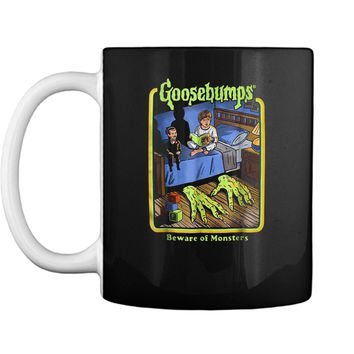 Goosebumps Beware of monsters  Halloween Gift Mug