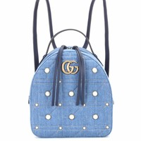 GG Marmont embellished backpack