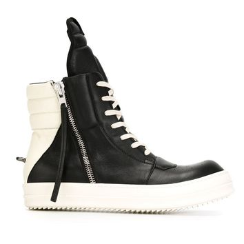 Indie Designs Cyclops Geobasket High Top Sneakers