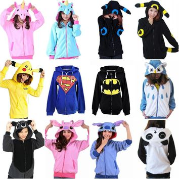 LL Zip Up Women's Hoodies