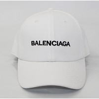 Balenciaga Fashion Women Men Sport Sunhat Embroidery Baseball Cap Hat Black G