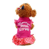 Puppy Clothes,Neartime Small Dog Cat Pet Dress Fly Sleeve Dress for Pet