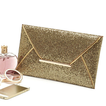 Summer Style Envelope Evening Party Clutch