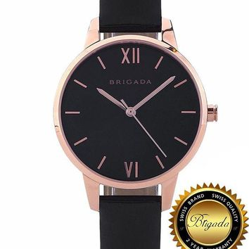 VLXZLP1 BRIGADA Swiss Watches for Women, Nice Fashion Quartz Waterproof Ladies Watches for Girls Women, Great Gift for Someone or Yourself