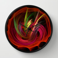 The Bouquet By Rgiada Wall Clock by Giada Rossi