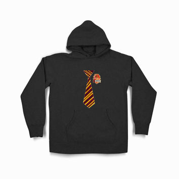Harry Potter Gryffindor Syf Black Hoodie