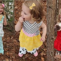 Restocked! Boutique Ruffle Sets- 5 Styles!