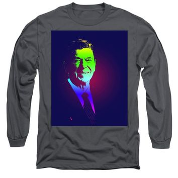 Portrait Of President Reagan 1981 Poster - Long Sleeve T-Shirt