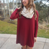 Softie Tunic - Wine