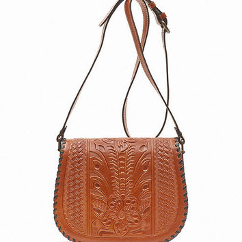 Patricia Nash Salerno Small Saddle Bag | Dillards