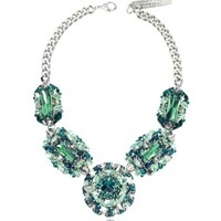 Philipp Plein  Designer Necklaces The Casino Princess Green Women's Necklace