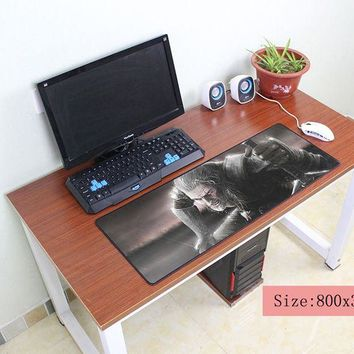 witcher mouse pad 800x300x3mm pad to mouse notbook computer mousepad Professional gaming padmouse gamer to keyboard mouse mats