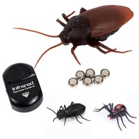 Cockroaches Spiders Remote Control Fake RC Toy