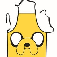 Jake the Dog Face Adventure Time Cooking Apron