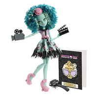 Monster High Fights Camera Action Doll [Hauntlywood Honey Swamp]