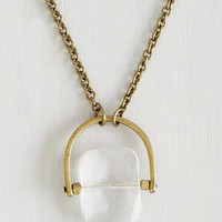 ModCloth Boho Clearly Cute Necklace