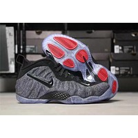 Nike Air Mens Foamposite Pro Hardaway Black/Gray Sneaker