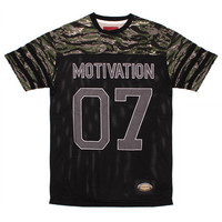 Vietnam Football Jersey Black / Tiger Camo