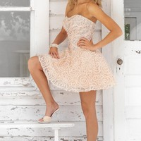 Homecoming dresses by Blush Prom Homecoming Style 9353