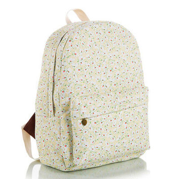 Cute Canvas Lovely Korean Backpack = 4888034180
