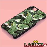 Banana Leaf for iphone 4/4s/5/5s/5c/6/6+, Samsung S3/S4/S5/S6, iPad 2/3/4/Air/Mini, iPod 4/5, Samsung Note 3/4 Case *002*