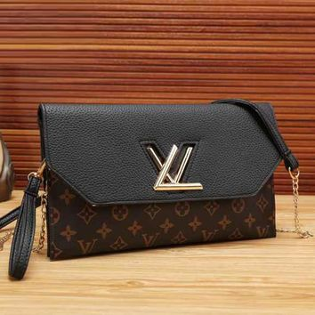 Lv Women Fashion Shopping Bag Leather Crossbody Satchel Shoulder Bag
