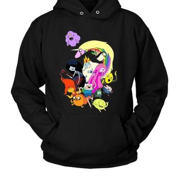 Adventure Time Characters Hoodie Two Sided